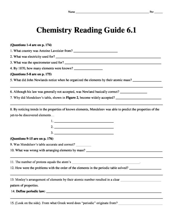 Chemistry Matter And Change 2013 Reading Guide